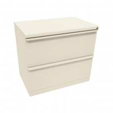 Zapf Two Drawer Lateral File, 42W x 19D x 28H - Dark Neutral Finish