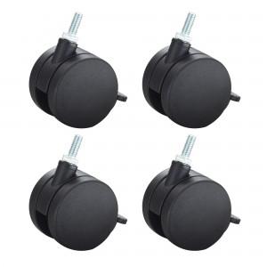Carpet Casters for AlphaBetter® (Set of 4) - Black