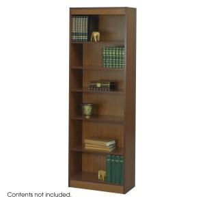 "6-Shelf Veneer Baby Bookcase, 24""W - Cherry"