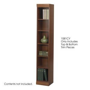"""Baby Bookcase Trim Kit, 12""""W - Cherry"""