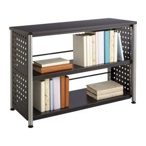 Scoot™ 2 Shelf Bookcase - Black