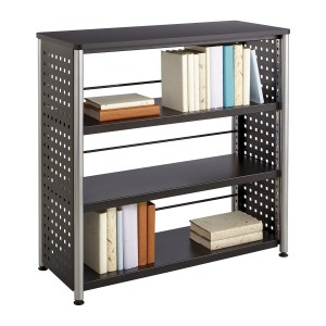 Scoot™ 3 Shelf Bookcase - Black