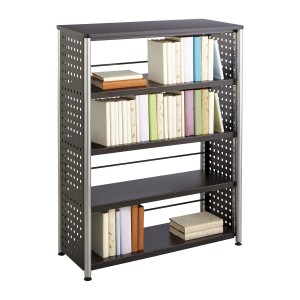 Scoot™ 4 Shelf Bookcase - Black
