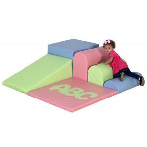 ABC Soft Mini Corner - Pastel