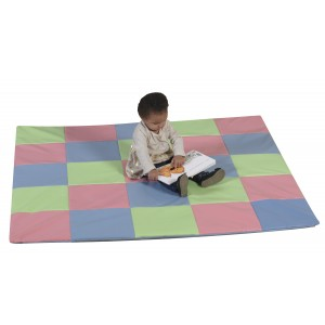 Patchwork Crawly Mat - Pastel