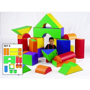 18 Piece Jumbo Block Set