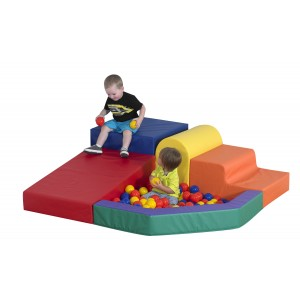 Children's Factory Mikayla's Mini Mountain Foam Toy for Children Active Playset for Kids (60 x 60 x 18 in)