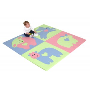 Baby Love Activity Mat - Pastel
