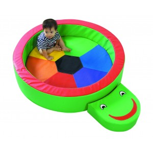 Children's Factory Turtle Hollow Indoor Play Set for Kids Foam Toy for Children Play Cushion