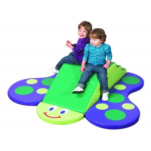 Children's Factory Butterfly Climber Indoor Playground for Children Active Play Set for Kids (60 x 52 x 12 in)