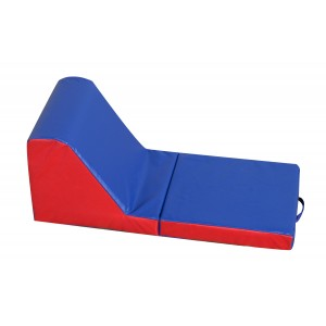 Cozy Time Lounger - Blue/Red