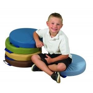 """15"""" Round Cushions - Woodland Set of 5"""