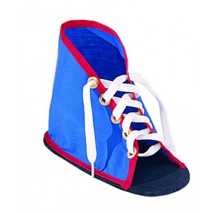 Lacing Shoe with Sole