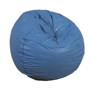 """31"""" Foam Filled Bean Bag - Deep Water Blue"""