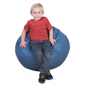 "26"" Foam Filled Bean Bag - Deep Water Blue"