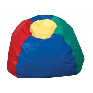 "26"" Round Bean Bag - Rainbow Colors"