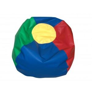 "35"" Round Bean Bag - Rainbow Colors"