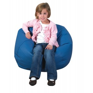 "26"" Round Bean Bag - Deep Water"