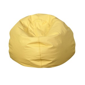 "35"" Round Bean Bag - Yellow"