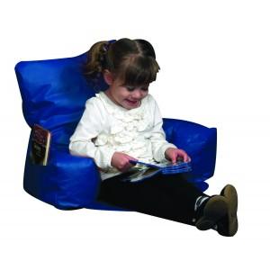 Sit-N-Read Bean Bag - Blue