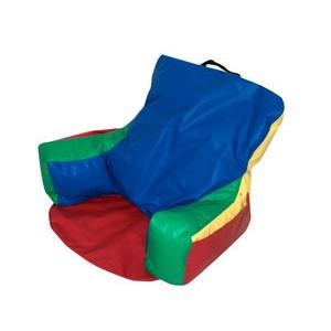 Sit-N-Read Bean Bag - Rainbow