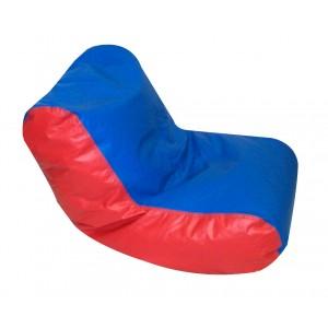 Preschool High Back Lounger - Blue & Red