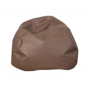 """35"""" Round Bean Bag - Walnut"""