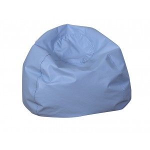 "35"" Round Foam Filled Bean Bag - Sky Blue"