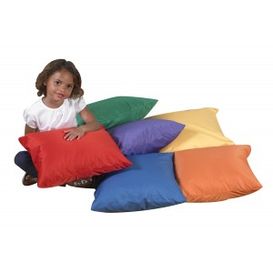 "17"" Cozy Pillows - Primary Set of 6"