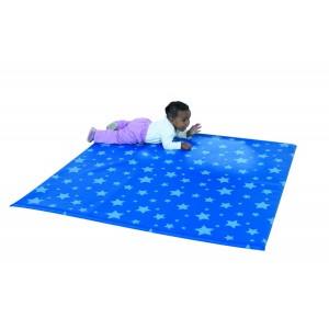 Children's Factory Starry Night Activity Mat Soft Play Mat for Kids Playroom Décor (52 x 52 x 1 in)