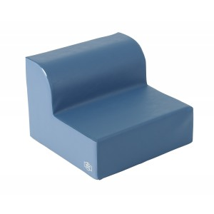 Library Chair - Deep Water/Sky Blue