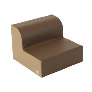 Library Chair - Walnut/Almond