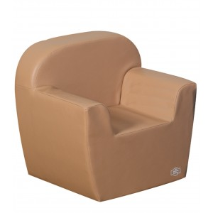 Club Chair - Almond
