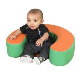 Sit Me Up - Orange/Green