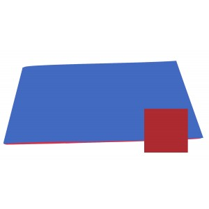 Reversible Color Mat - Blue/Red