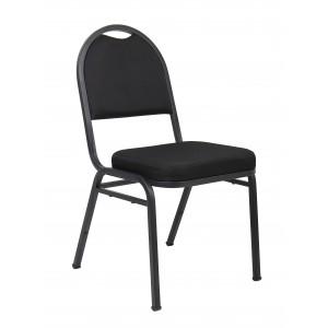 Black Crepe Banquet Chair