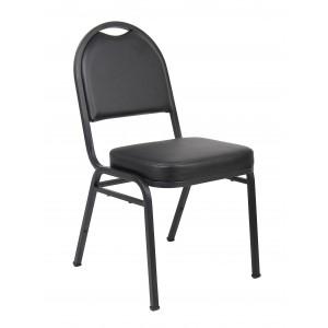Black Caressoft Banquet Chair