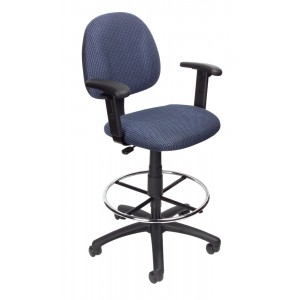 Drafting Stool (B315-BE) W/Footring And Adjustable Arms