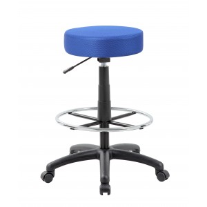 DOT Drafting Stool, Blue