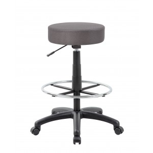DOT Drafting Stool, Charcoal Grey