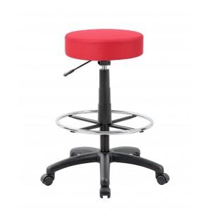 DOT drafting stool, Red