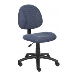 Blue Deluxe Posture Chair