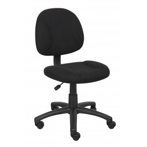 Black Deluxe Posture Chair