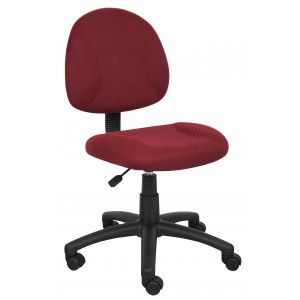 Burgundy Deluxe Posture Chair