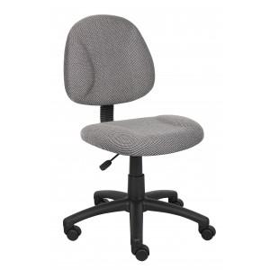 Grey Deluxe Posture Chair