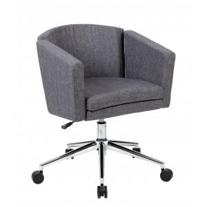 Metro Club Desk Chair - Slate Grey