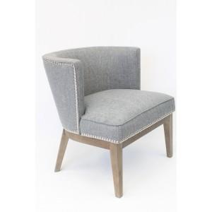 Ava Accent Chair - Medium Grey