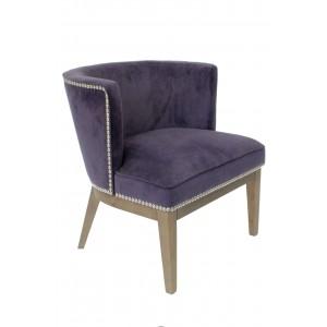 Ava Accent Chair - Purple