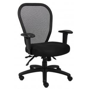 Mesh Chair W/3 Paddle Mech