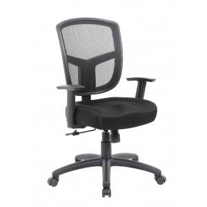 Contract Mesh Task Chair, Synchro-Tilt Mechanism